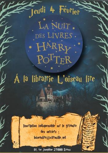 livres,soirée,harry potter